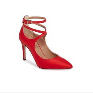 Lewit Carita Ankle Wrap Pumps - Sz 36.5